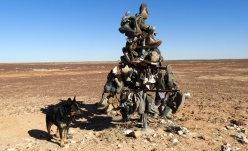 The Shoe Tree on road to Bedourie