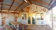 The BEST camp kitchen in the Flinders!