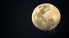 Had a g8 full moon whilst in Winton