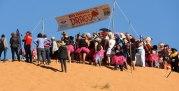 Start line of RFDS Drag Races