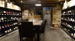 Sevenhill Hotel-Cellar dining