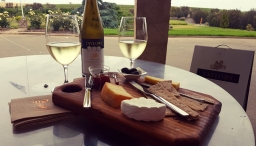 Taylors Wines - cheese platter