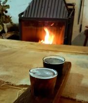 Greenock Brewers tasting paddle