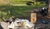 Bago Maze & Winery-platter & wine