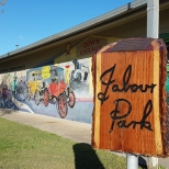 Jabour Park, Sth Grafton - beaut mural