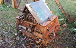 The Lost Plot Community Garden - Insect Hotel