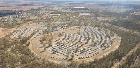 Aerial of Festival - Tara Fest Photo
