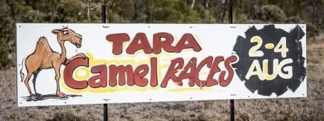 Roadside Race sign