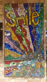 Beautiful mosaic at Inglewood Driver Reviver
