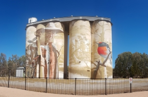 Wirrabara Painted Silo