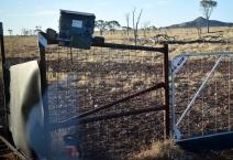Yaraka-dog fence alarm rd to Mt Slowcombe