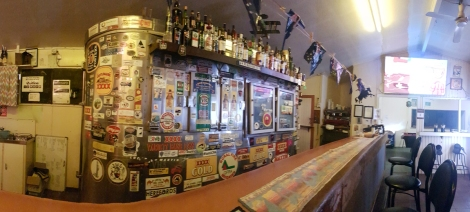 Stonehenge Hotel bar