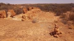 Escarpment on John Egan Track