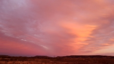 Yaraka-sunset over Yang Yang Ranges